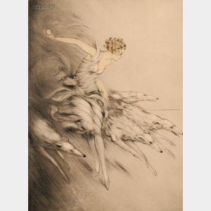 Louis Icart (French, 1888-1950)      L'Elan