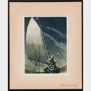 Yngve Edward Soderberg (American, 1896-1971)    Night Watch