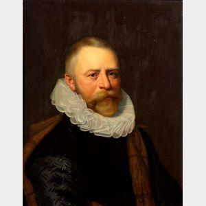 School of Cornelis de Vos (Flemish, 1585-1651)    Portrait of the Antwerp Patrician, Pieter Joncheijn