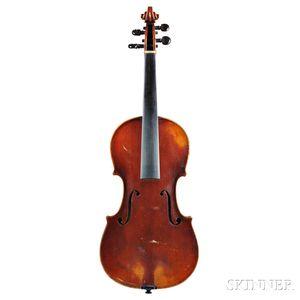 American Violin, Asa Warren White, 1890