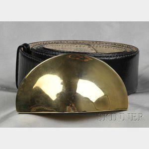 Leather Belt, Robert Lee Morris