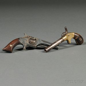Two Spur-trigger Pistols