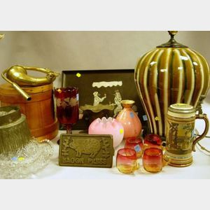Group of Assorted Decorative and Collectible Items