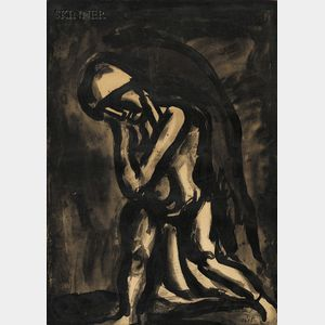 Georges Rouault (French, 1871-1958)      Lot of Three Images: Hiver lèpre de la terre