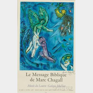 After Marc Chagall (Russian/French, 1887-1985)      Le message biblique de Marc Chagall
