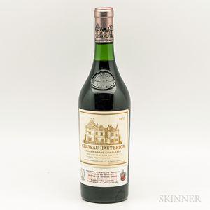Chateau Haut Brion 1967, 1 bottle