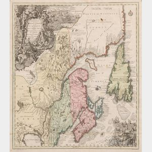 (North America, Canada), Seutter, Matthaus (1647-1756)