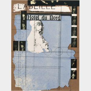 Joseph Cornell (American, 1903-1972)      Hotel du Nord