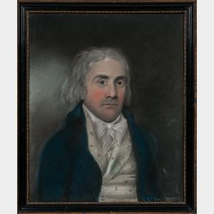 American School, Late 18th/Early 19th Century      Portrait of a Gentleman