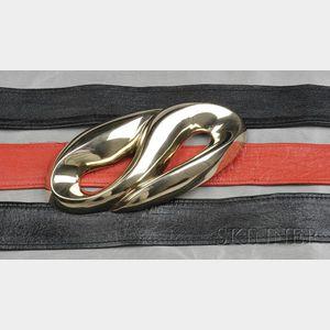 Sterling Silver Belt Buckle, Patricia Von Musulin