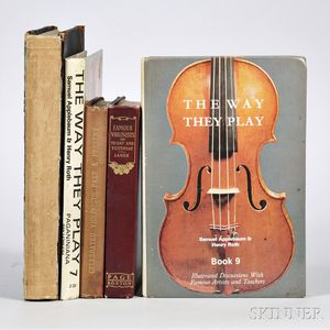 Five Violinist-related Books