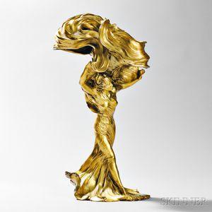 Loïe Fuller   François-Raoul Larche Art Nouveau Lamp