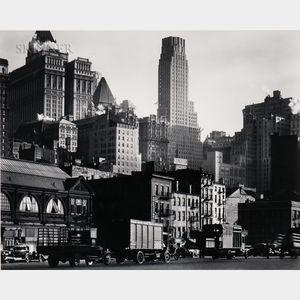 Berenice Abbott (American, 1898-1991)      West Street
