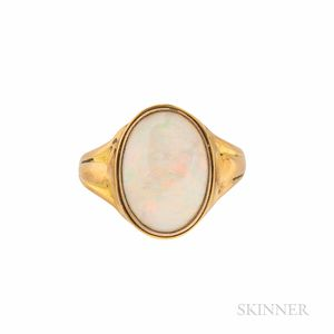 22kt Gold and Opal Ring