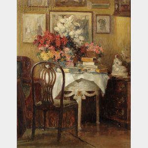 Attributed to Karl Storch (German, 1864-1954)      Interior
