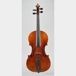 French Violin, Claude Miremont, Paris, 1865