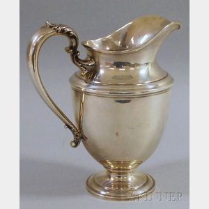 Frank Whiting & Company Sterling Silver Water Pitcher