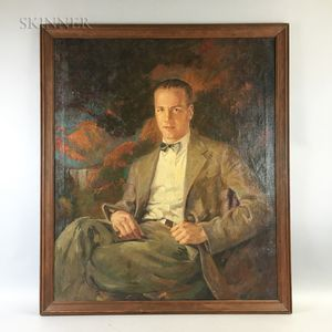 Attributed to John Peirce (American, 1900-1970)    Portrait of Cary W. Bok