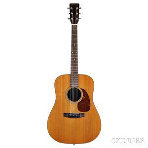 C.F. Martin & Co. D-25 K Acoustic Guitar, 1980