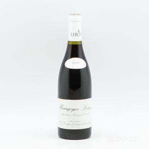 Maison Leroy Bourgogne 1990, 1 bottle