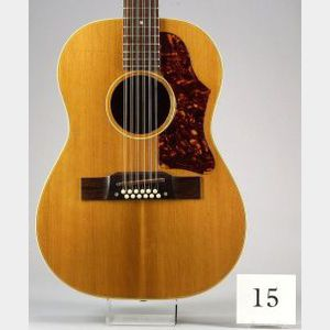 American 12-String Guitar, Gibson Inc., Kalamazoo, 1964, Model B-25-12