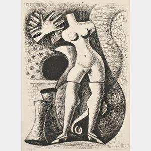 Maruja Mallo (Spanish, 1902-1995)      The Mannequin