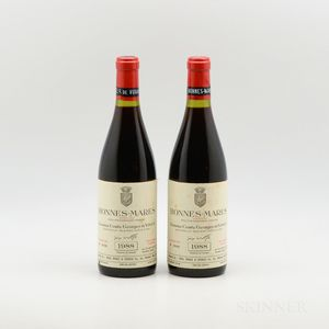 Comte Georges de Vogue Bonnes Mares 1988, 2 bottles