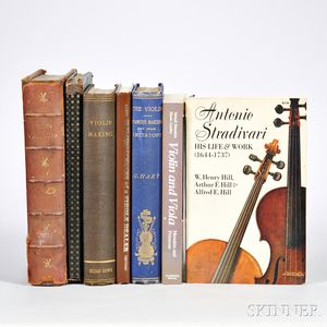 Seven Violin-related Books