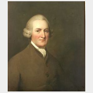Manner of Sir Henry Raeburn (British, 1756-1823)  Portrait of Barrister Dugald Forbes