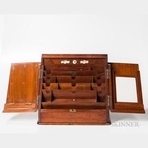 Burl Veneer Letter Box