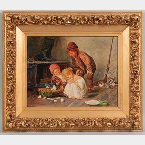 John (Giovanni) Califano (American/Italian, 1864-1946)      The Chicks