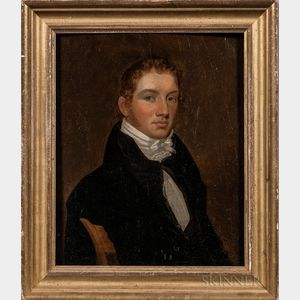 American School, Early 19th Century    Portrait of Mr. Paul, Possibly of Pittsburgh