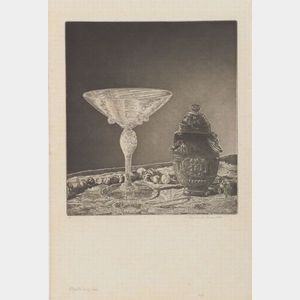 John Taylor Arms (American, 1887-1953)    Crystal and Jade