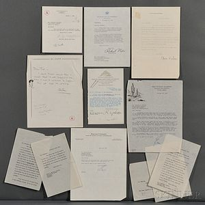 Collection of Signed Letters.