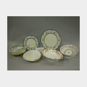Set of Thirty-six Royal Doulton Cambridge Pattern Porcelain Dinner and Salad   Plates