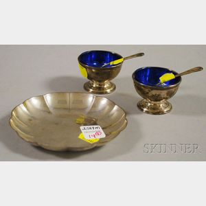 Five Small American Sterling Tableware Items