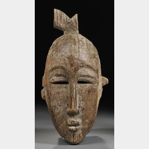 Ligbi Carved Wood Mask