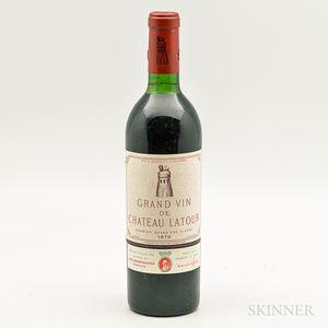 Chateau Latour 1970, 1 bottle