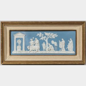 Wedgwood Light Blue Jasper Plaque