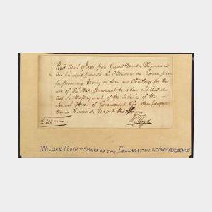 Floyd, William (1734-1823), Signer from New York