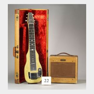 American Lap Steel Guitar and Amplifier, Fender Electric Instruments, Fullerton,1952