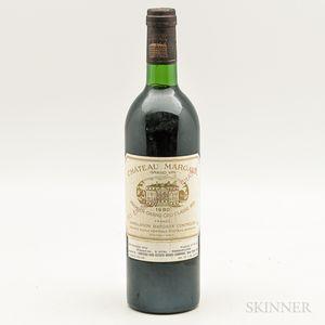 Chateau Margaux 1980, 1 bottle