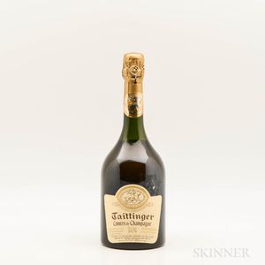 Taittinger Comtes de Champagne 1979, 1 bottle