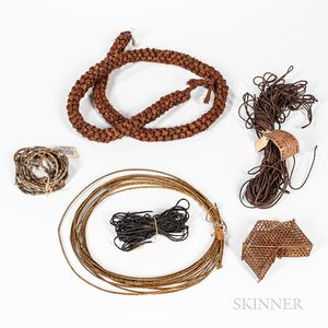 Collection of South Pacific Fiber Cordage