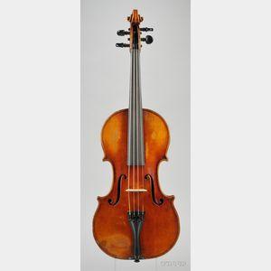 American Violin, Jerome Bonaparte Squier, Boston, 1888