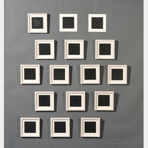 Sol LeWitt (American, 1928-2007) All Double Combinations (Superimposed) of Geometric Figures (Circle, Square, Triangle, Rectangle, Trap