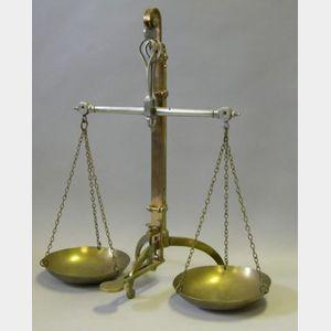 Brass Beam Balance by Day & Millward