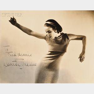 Soichi Sunami (Japanese/American, 1885-1971)      Portrait of Martha Graham in Ekstasis