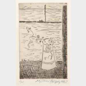 Milton Avery (American, 1885-1965)      Window by the Sea