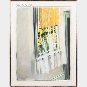 Michael Mazur (American, 1935-2009)      Billowing Curtains